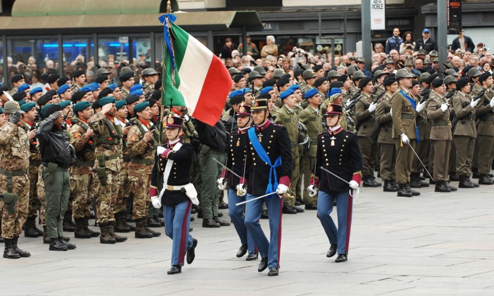 Italy, united out of nine former independent states, celebrates its 150th anniversary in 2011