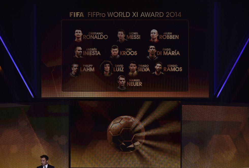 Fifa World XI: la squadra più forte del mondo