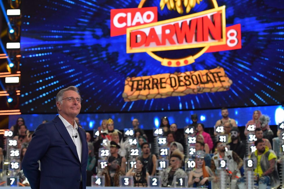 Paolo Bonolis Ciao Darwin 8