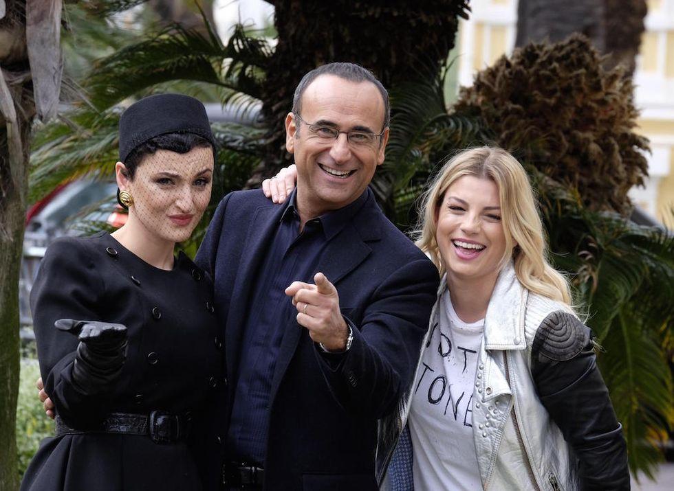Sanremo 2015: al fianco di Carlo Conti Emma, Arisa e Rocío Muñoz Morales