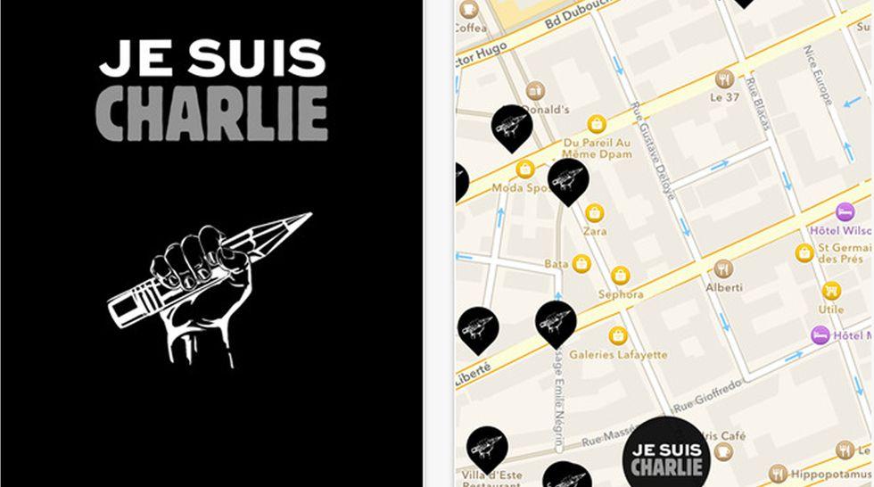 """Je suis Charlie"" è ora anche una app"