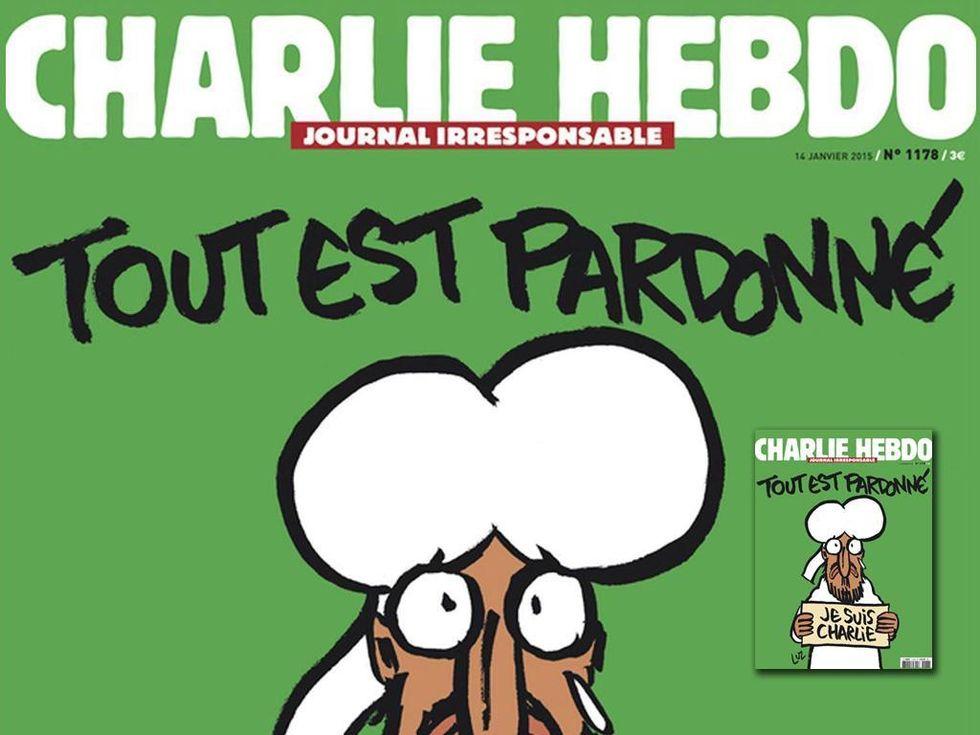 """Luz e la sua copertina di Charlie Hebdo: """"Il nostro Maometto è simpatico"""""""