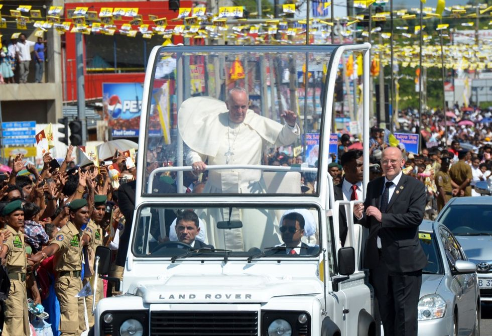 Papa Francesco nello Sri Lanka - Le foto
