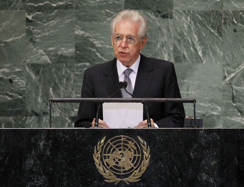 Italy's Monti says he could consider second term as Prime Minister