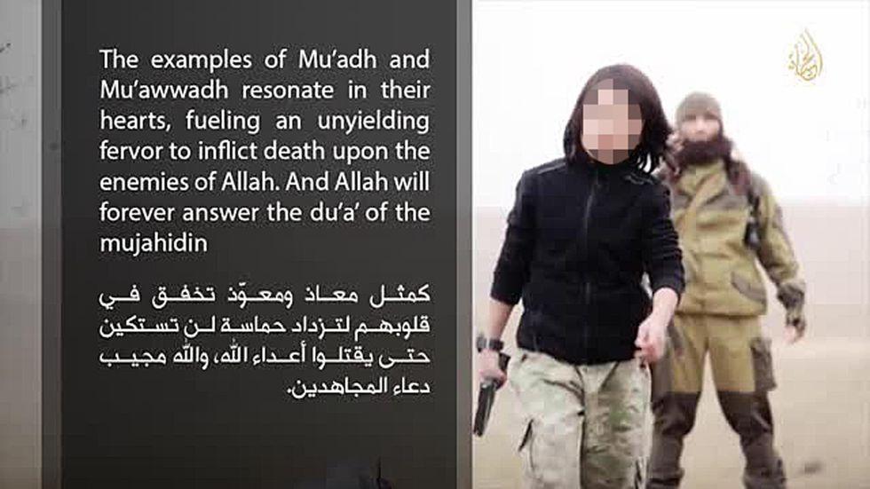 Isis: il video del killer bambino
