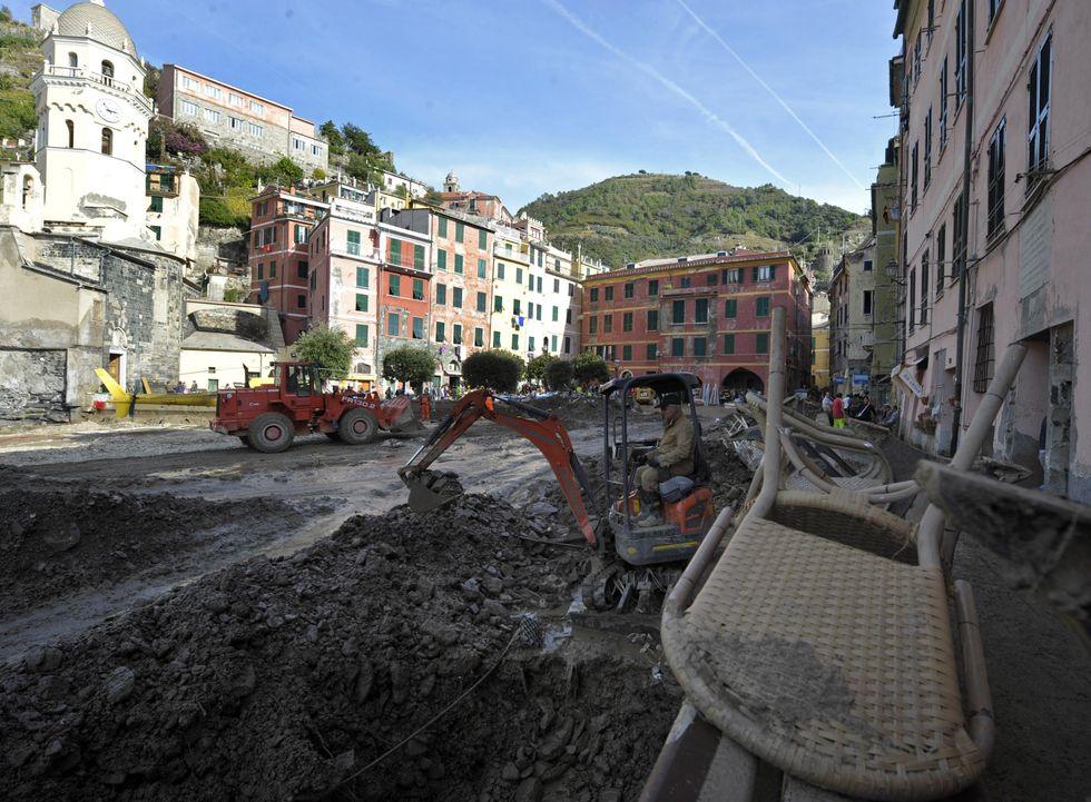 The rebirth of Cinque Terre, in the Liguria region
