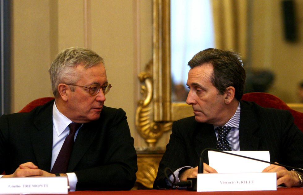 Italy's finance minister Grilli beats his predecessor Tremonti by 47 billion (in taxes)