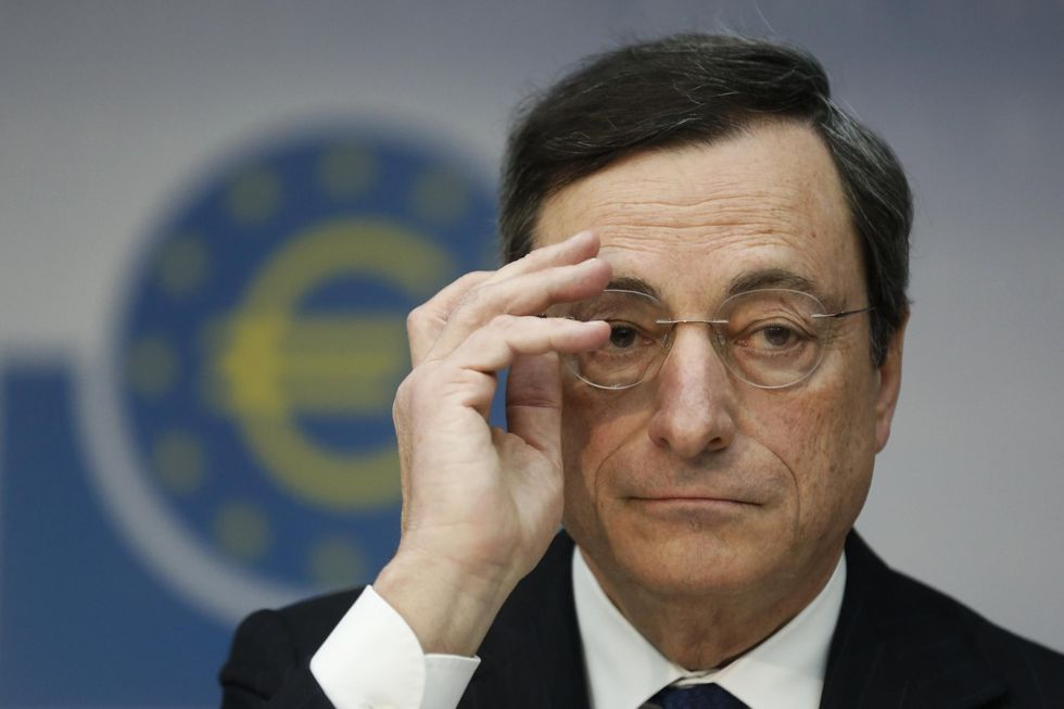Mario Draghi Named Financial Times Person of the Year