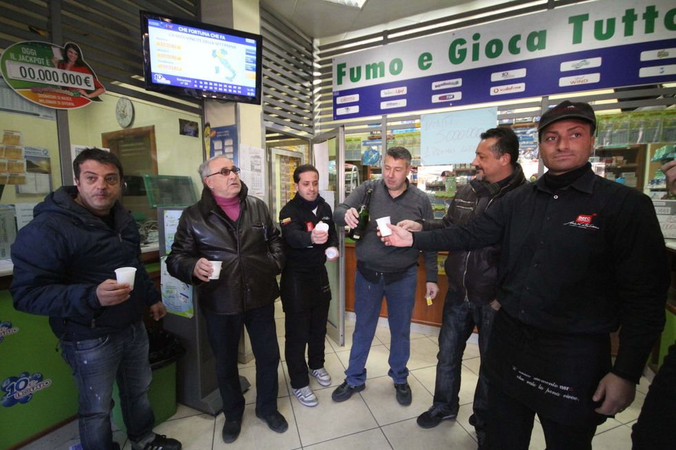 In Italy crisis forces people to stop playing games