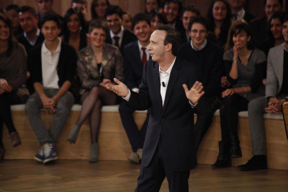 12 million of Italians followed Benigni's show about Constitution