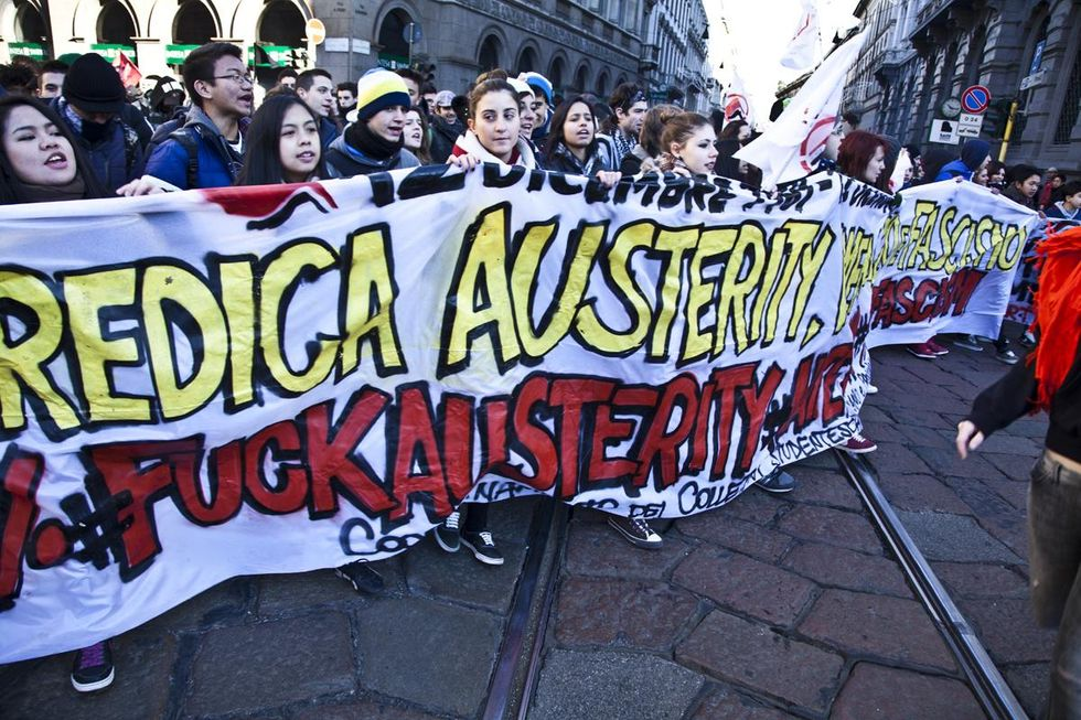 Economy: 2012, one of the hardest years for Italy