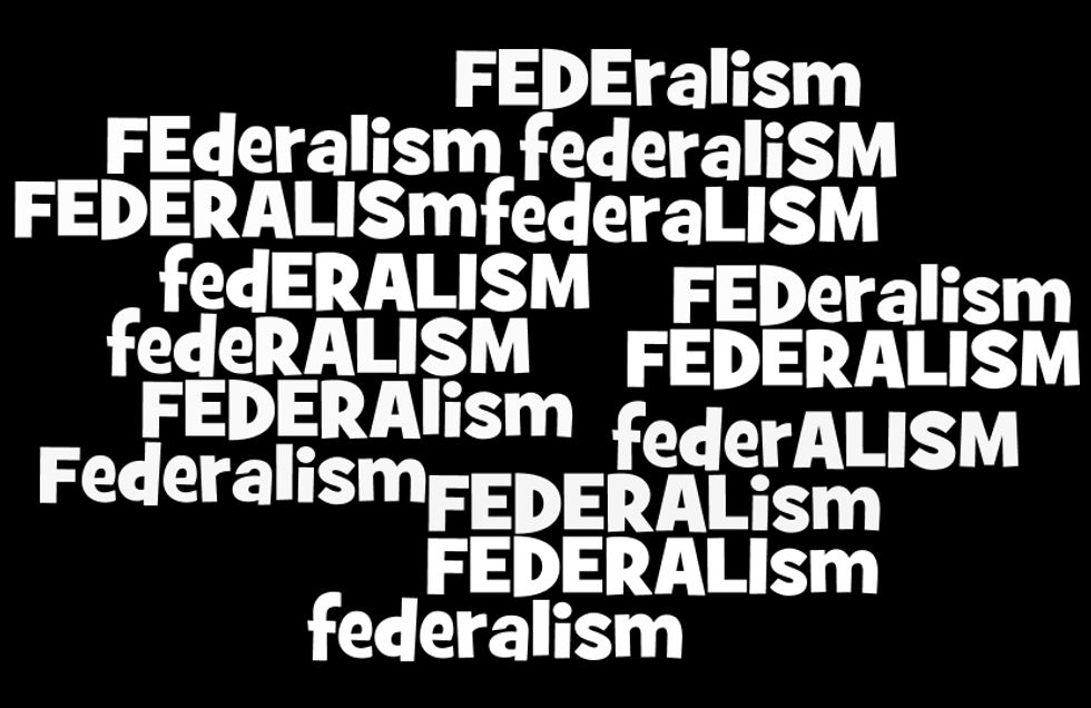 Federalism with more taxes