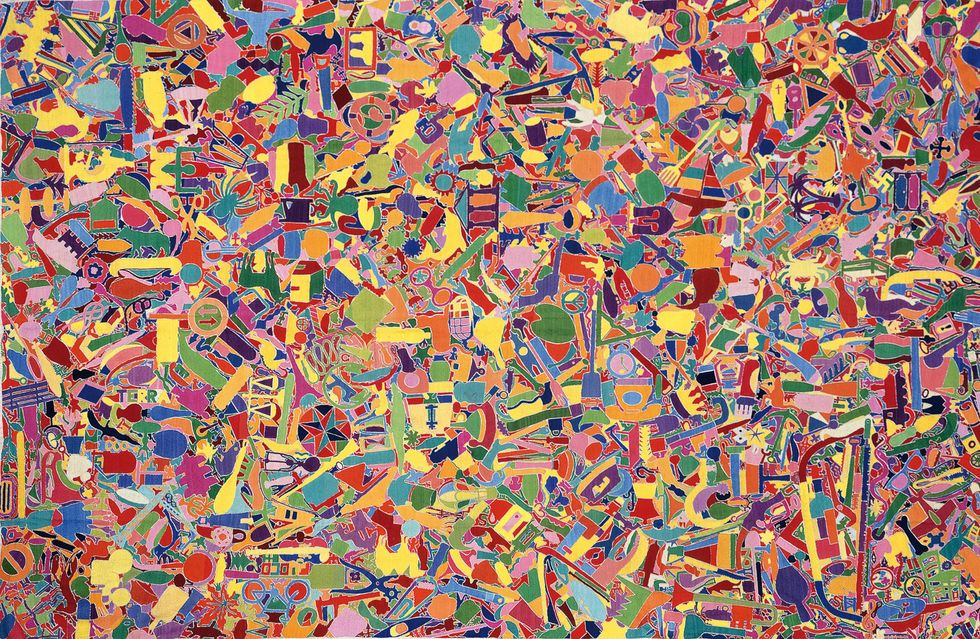 Rome gives tribute to Alighiero Boetti with a brand new exhibition