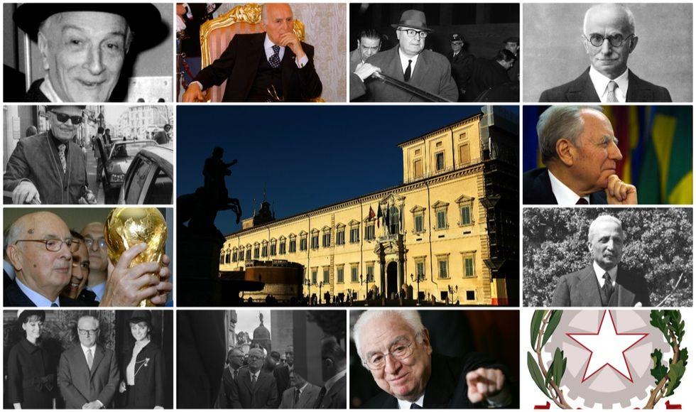 Tutti i Presidenti della Repubblica dal 1946 a oggi