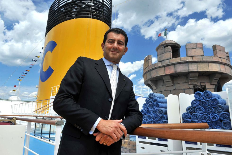 """Gianni Onorato: """"The shipwreck of the Concordia? The worst day of my life"""""""
