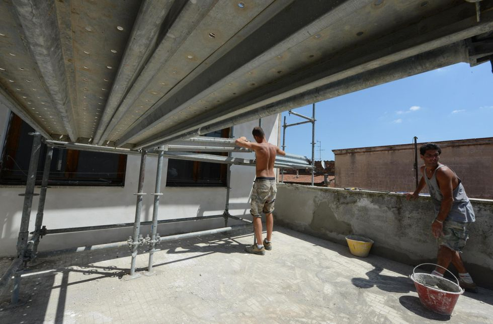 Italy's builders' group worries about the future