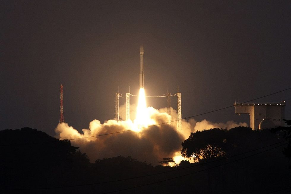 Italian Vega satellites successfully launched to space