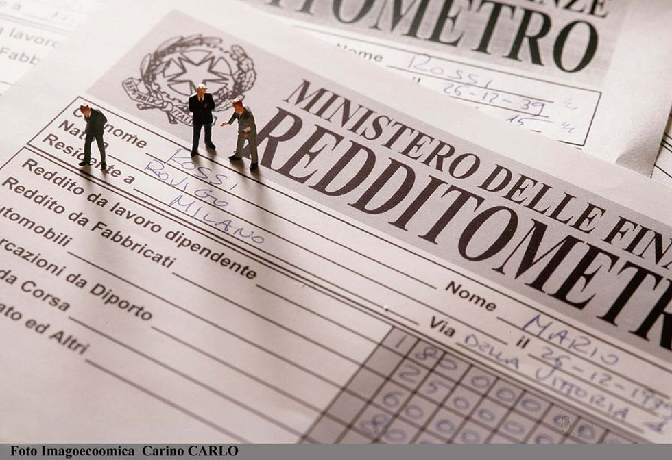 The tax meter of italian families