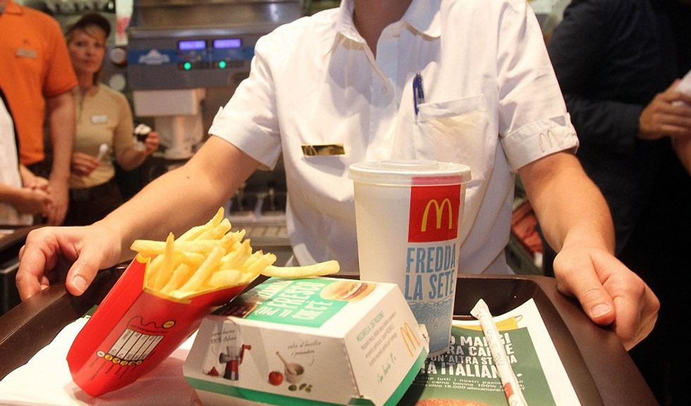 McDonald's relaunching Italian food. In Italy