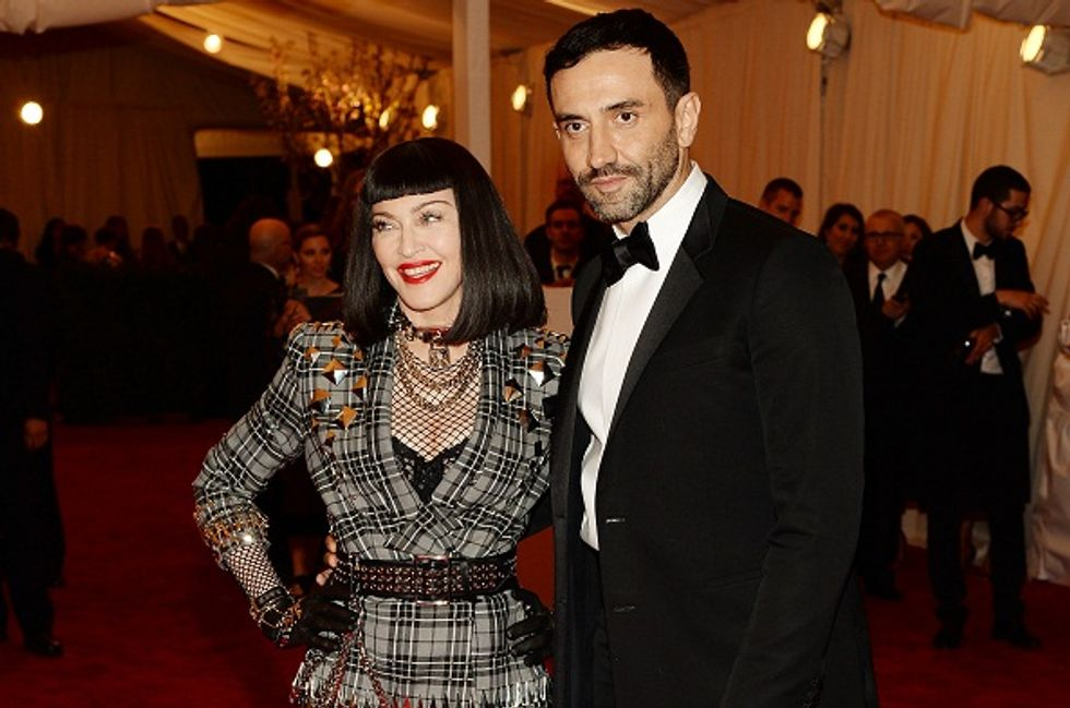 Italian Givenchy's stylist Riccardo Tisci is the trendsetter of the moment