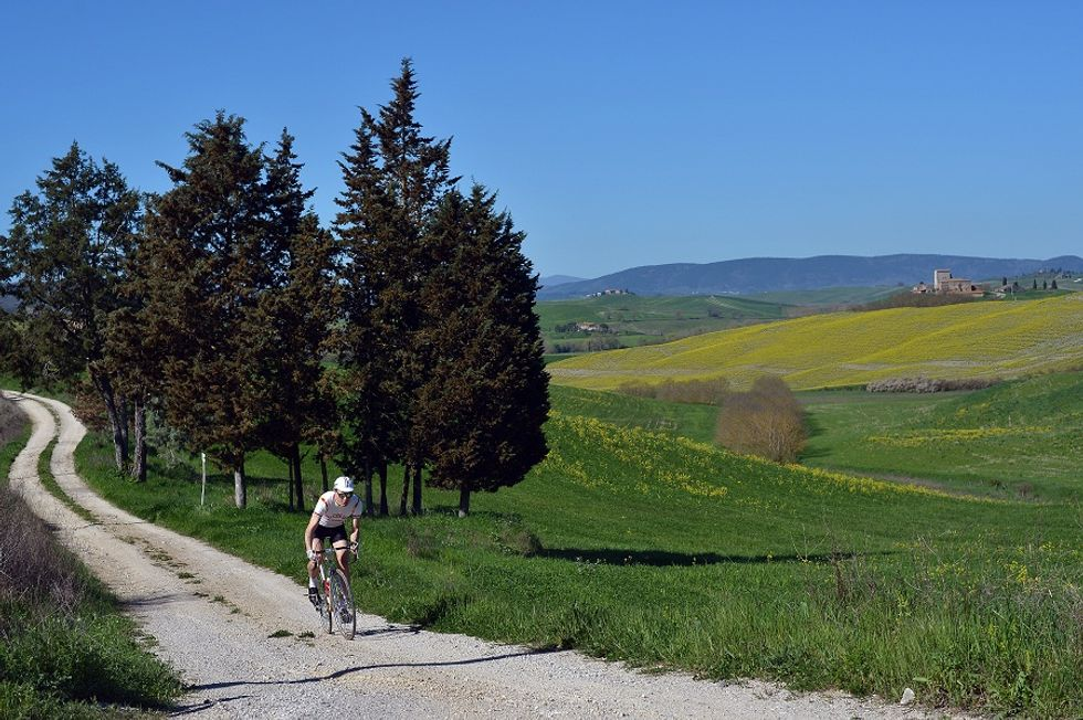 Enjoying Tuscany by bike