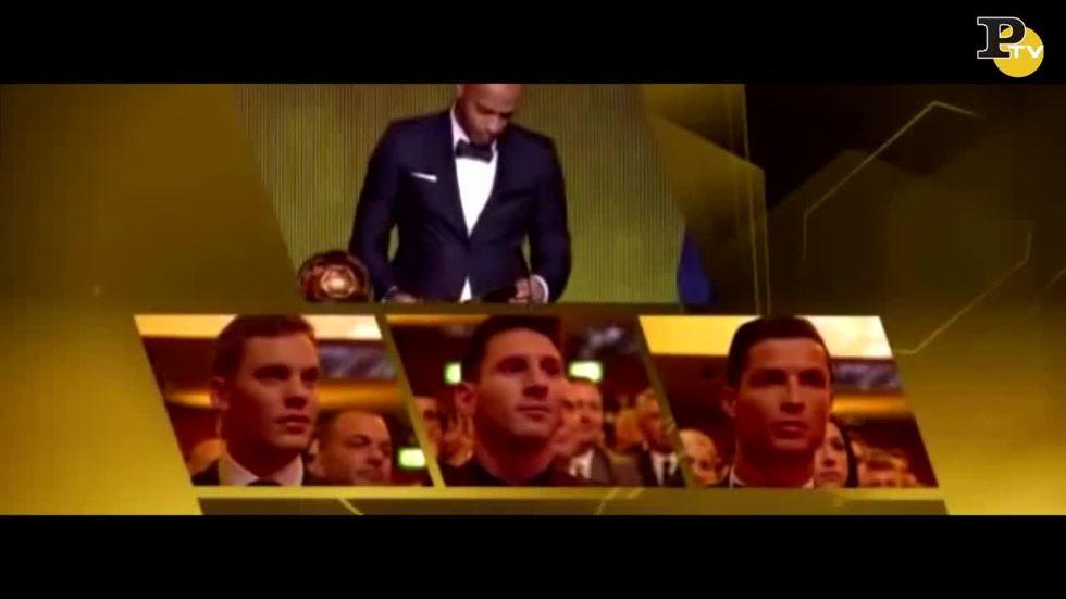 """Il """"grido"""" di Ronaldo, l'ironia del web"""
