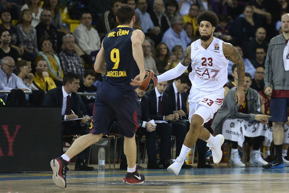 EA7 Milano: grazia per Hackett, torna a giocare in Campionato