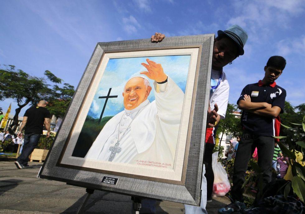 Papa Francesco nelle Filippine - Le foto