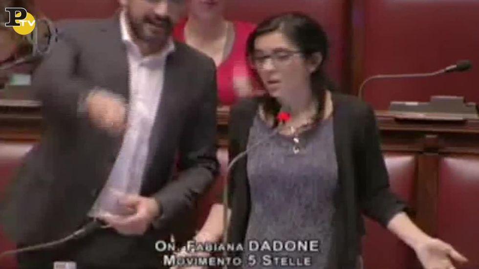 La gaffe di Fabiana Dadone
