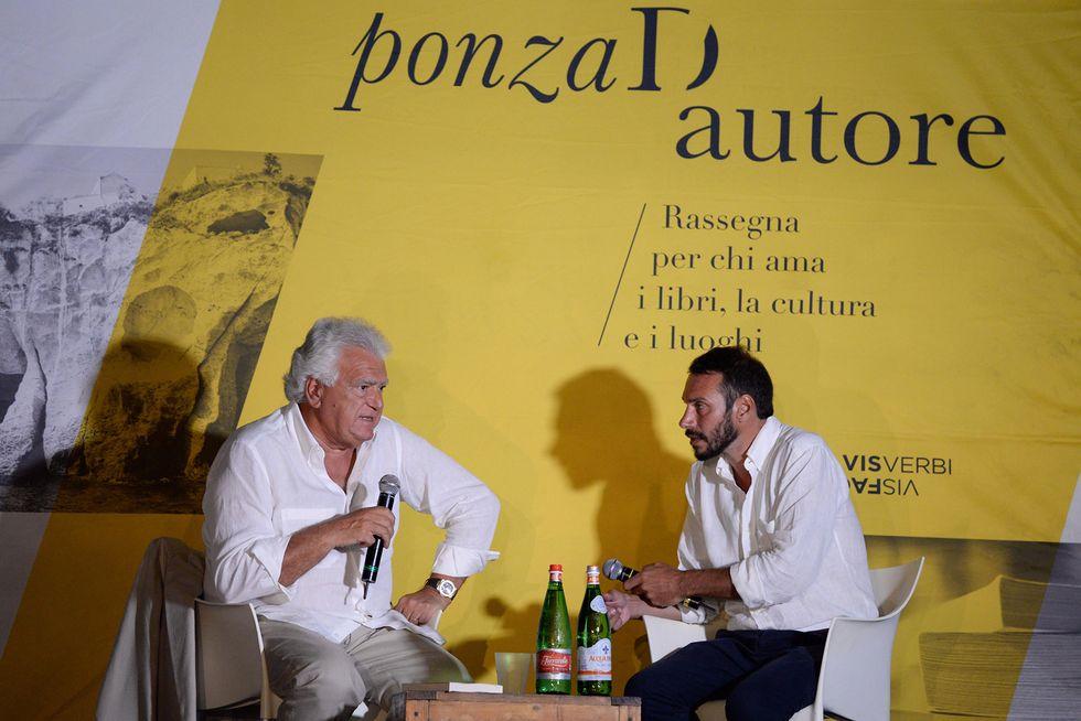 Denis Verdini e Davide Vecchi a Ponza D'Autore 2016