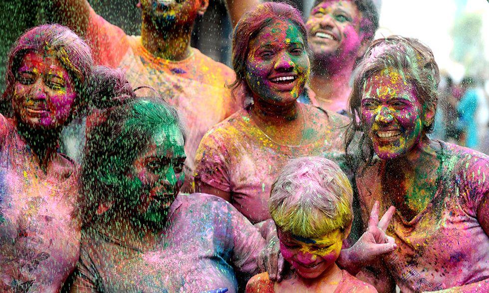 Holi Festa dei colori