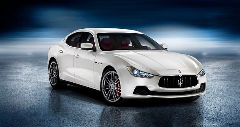 Maserati's Ghibli challenging upmarket German cars