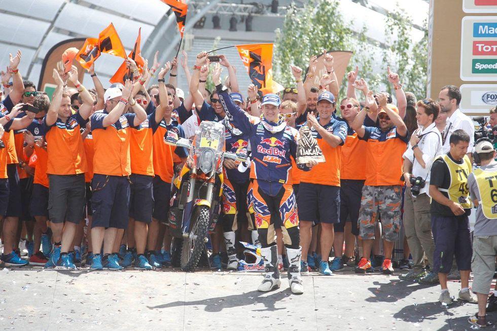 Dakar 2015: tutti i vincitori