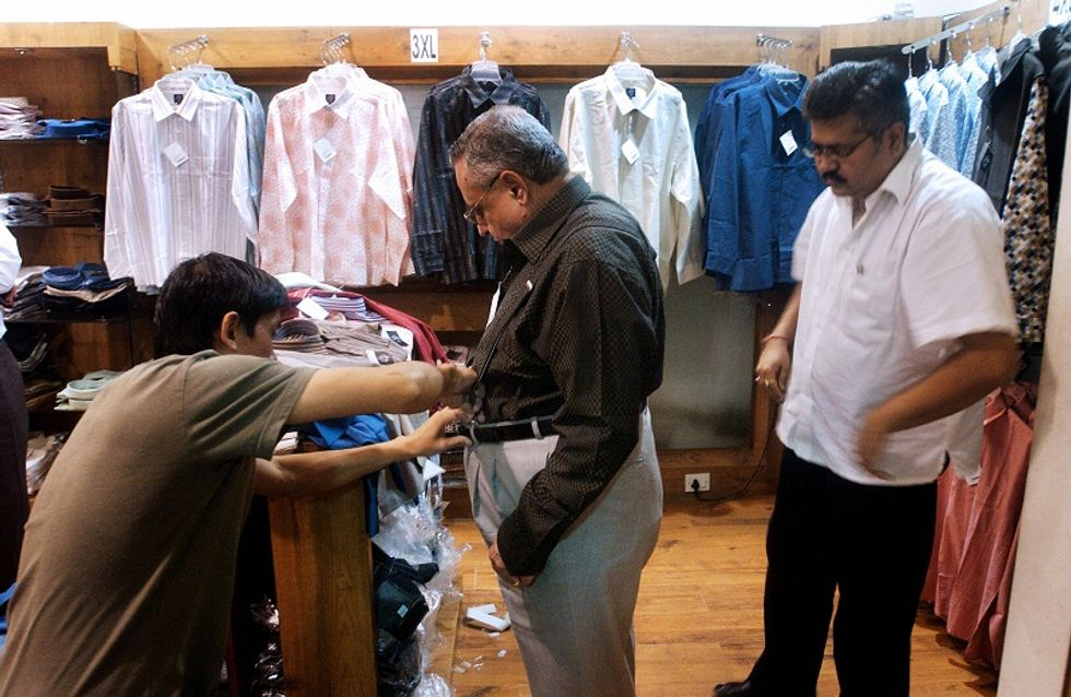 Italian fashion riding on Indian wealth, targeting overweight people