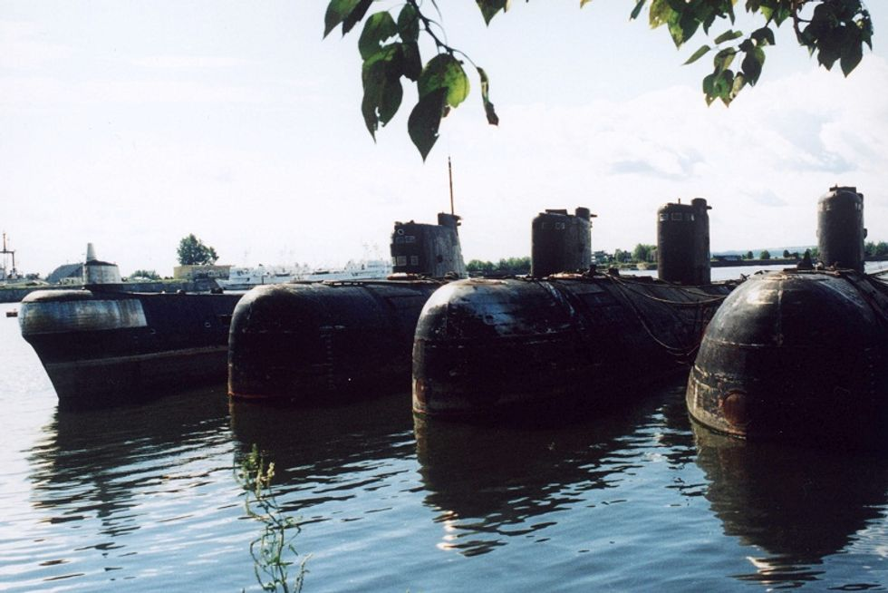 Russian submarines with an Italian twist