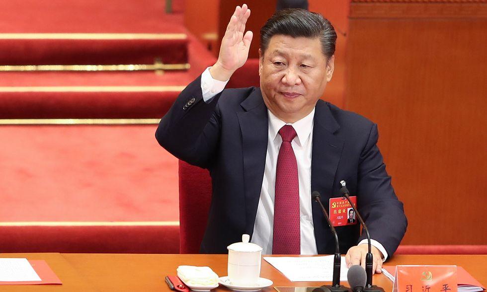Ci a Xi JInping Congresso comunista