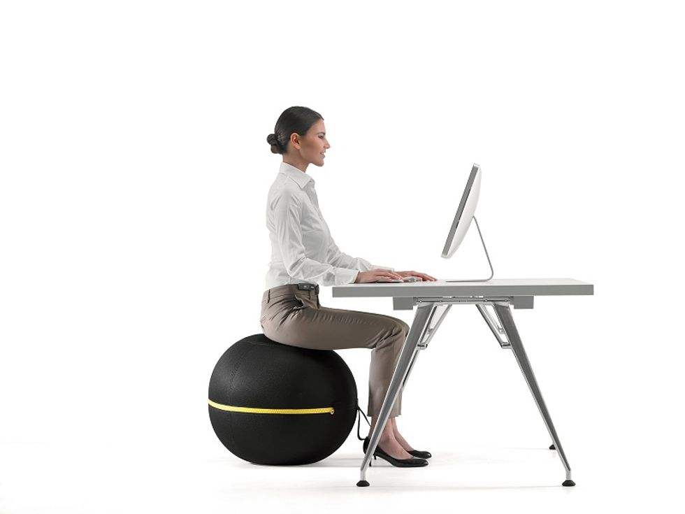 Can you sit on a ball? Yes, thanks to Technogym