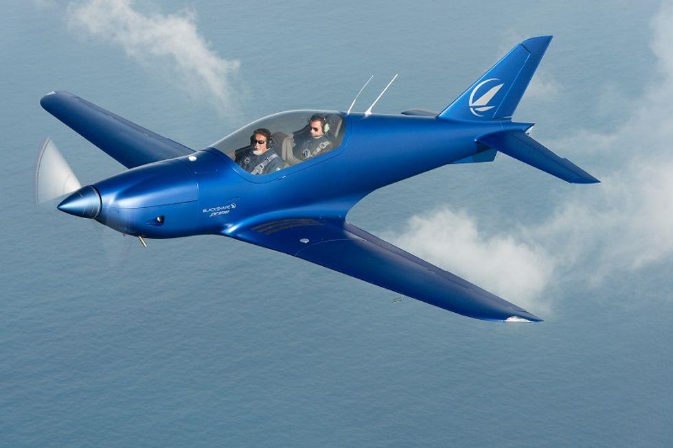 Blackshape, Italian technology on wings