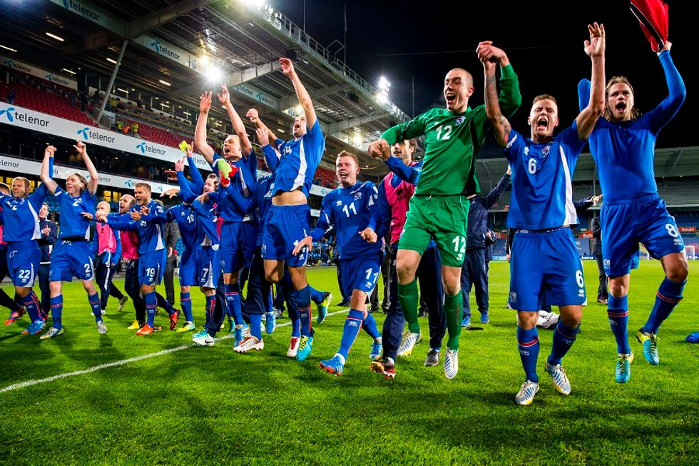 Errea' is dressing Iceland national team