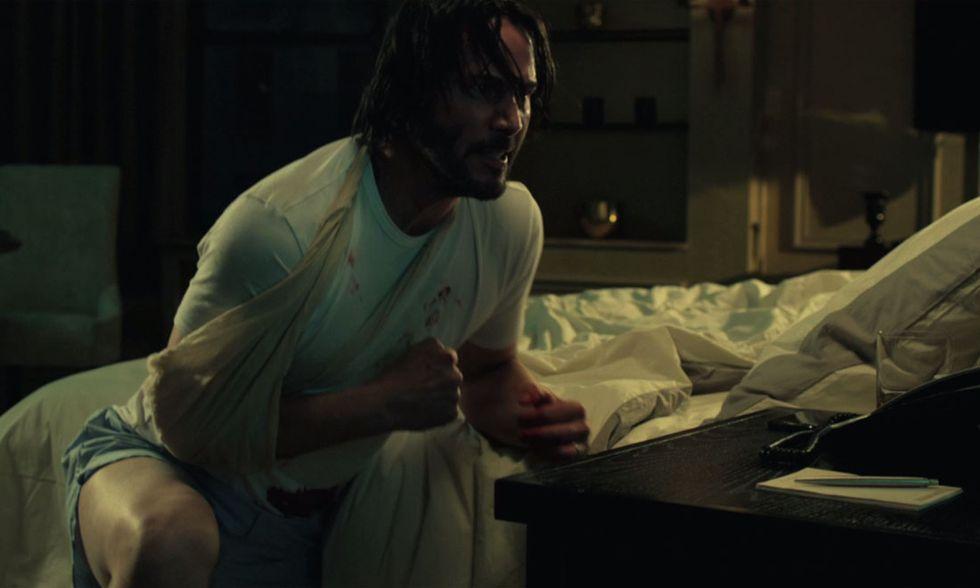 John Wick, un estratto del film con Keanu Reeves