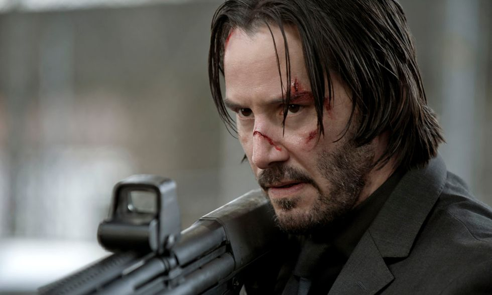 "Keanu Reeves in ""John Wick"""