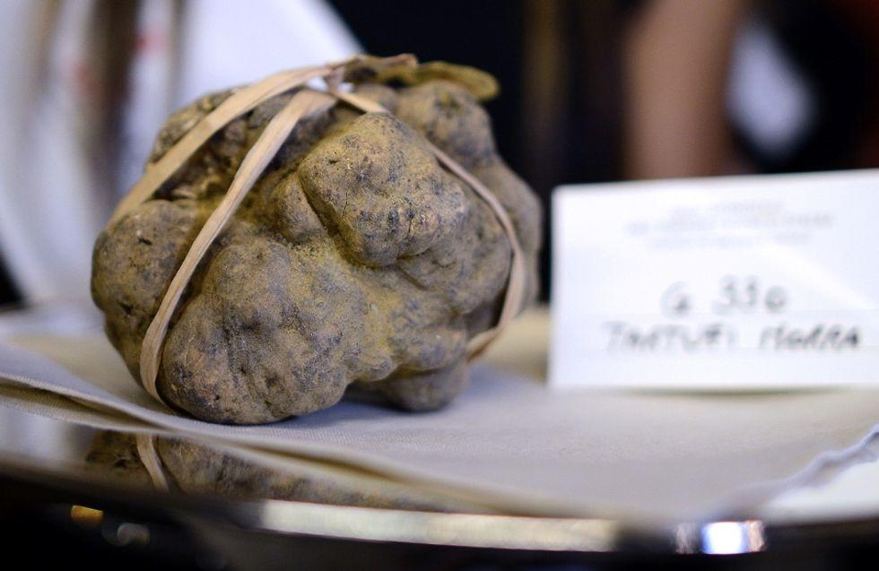 Enjoying white truffles in Hong Kong