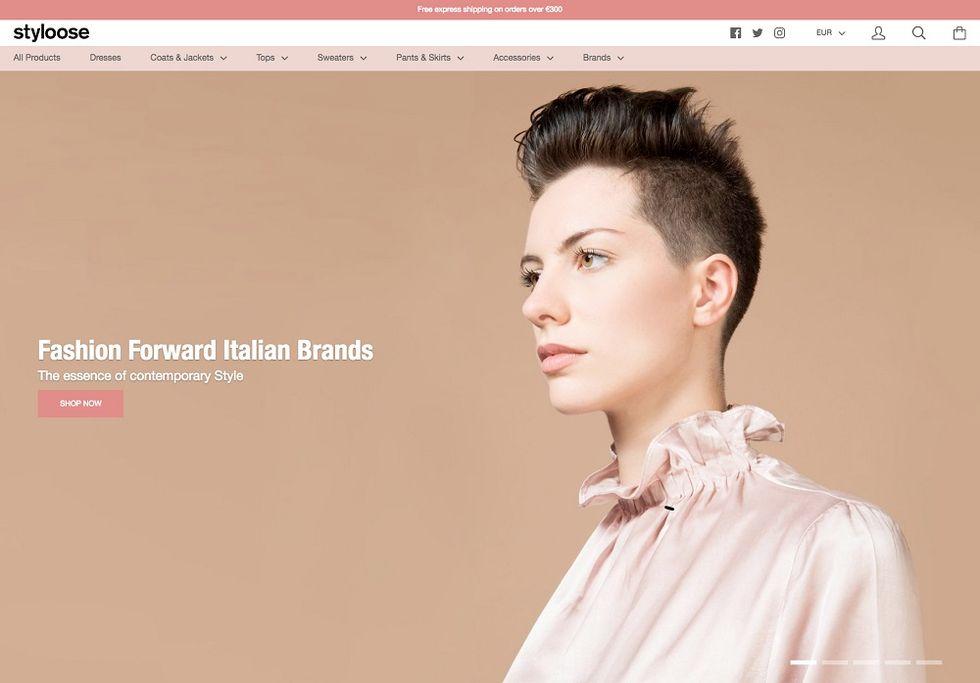 Styloose: the Italian new e-boutique of contemporary fashion brands
