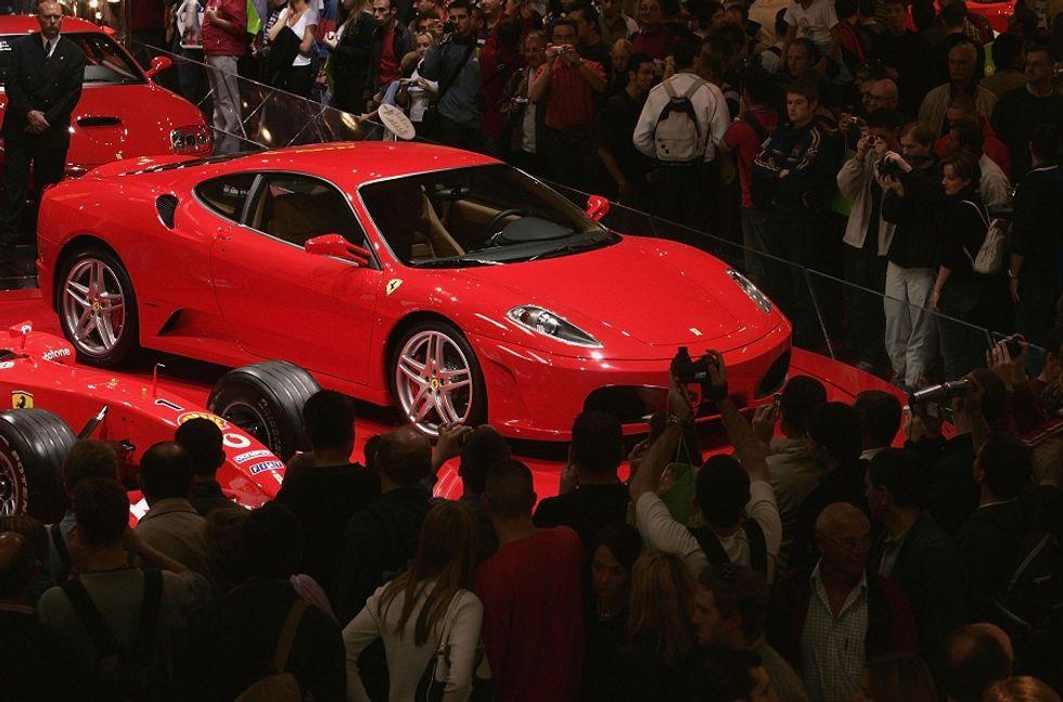 Driving Ferrari in Australia