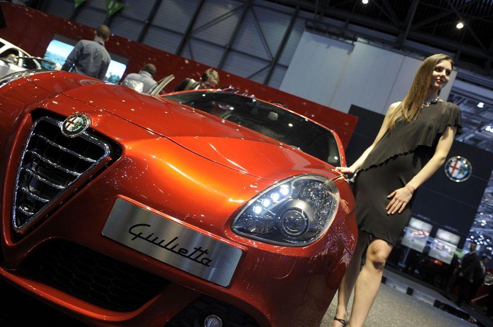 """Alfa Romeo """"traditional"""" love story"""