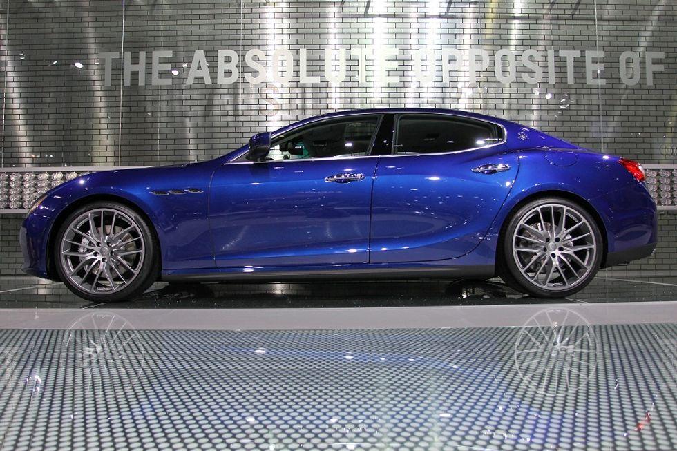 "Maserati Ghibli and its US ""Strike"""