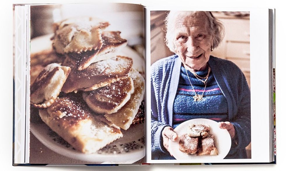 Nonna to Nana, a documentary-style cookbook celebrating Italian traditions