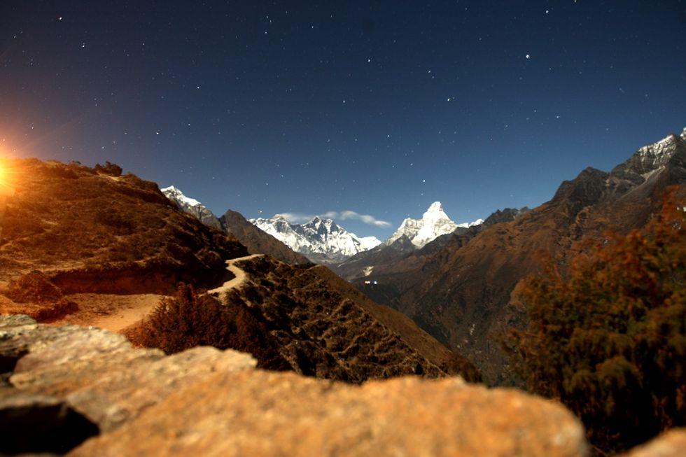 Italian Weather Station at Everest Base Camp
