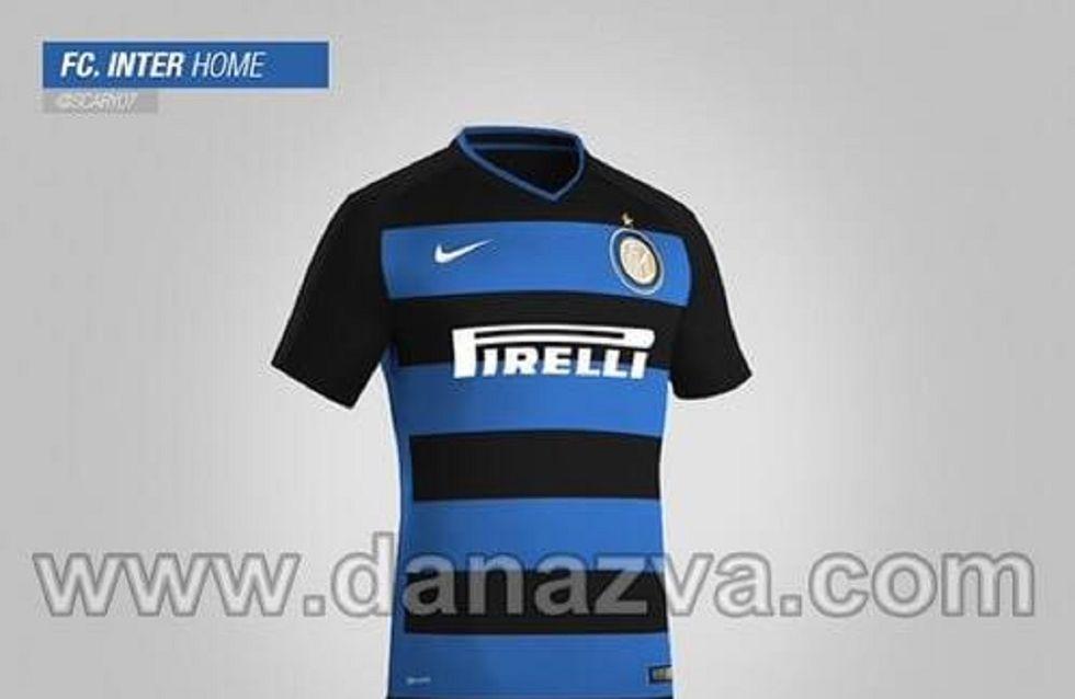 Inter: nuove maglie a strisce orizzontali?