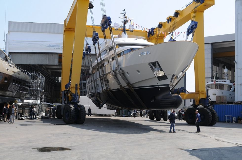 A new Italian yacht is on the market
